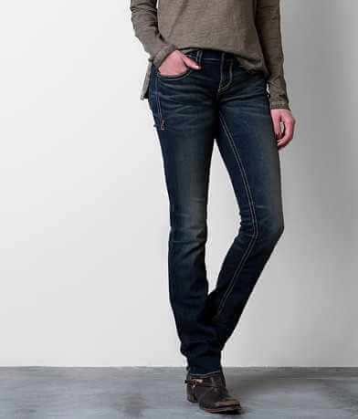 Buckle Black Fit No. 146 Straight Stretch Jean