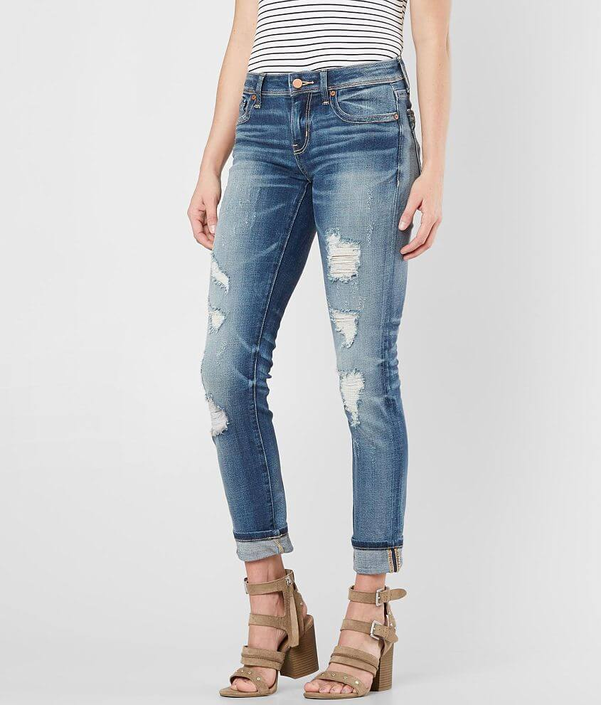 Buckle Black Fit No. 53 Ankle Straight Jean front view
