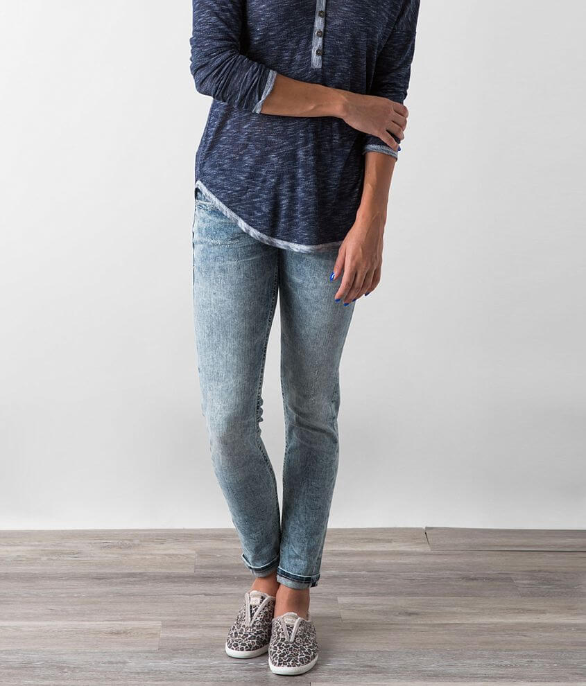Buckle Black Fit No. 80 Skinny Jean front view