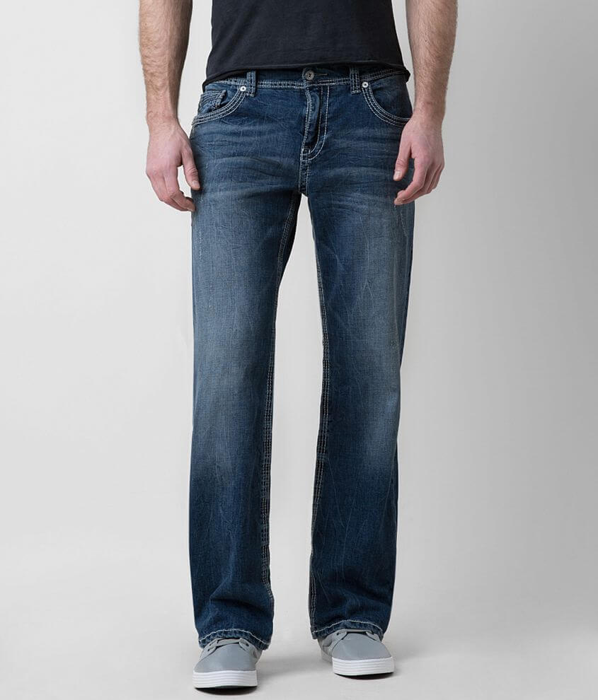 Buckle Black Eleven Stretch Jean front view