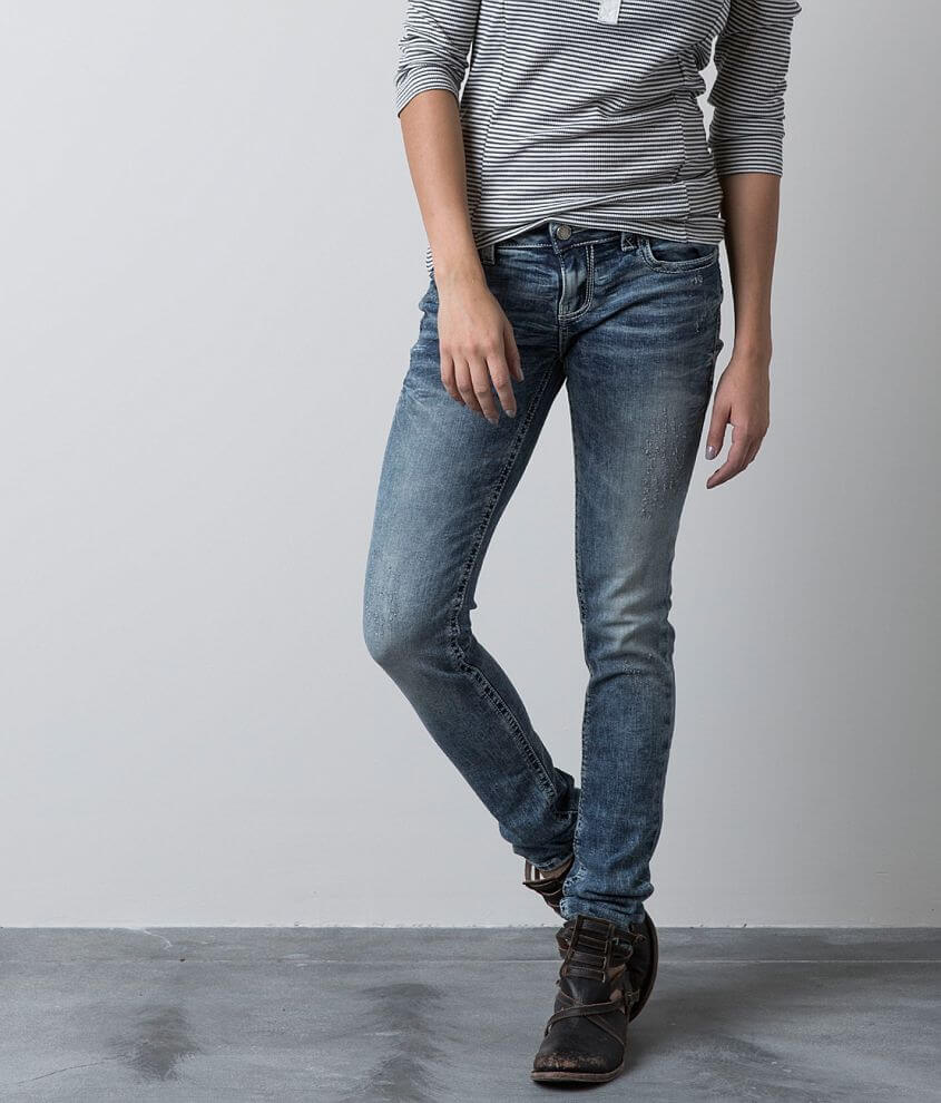 Buckle Black Fit No. 53 Skinny Jean front view