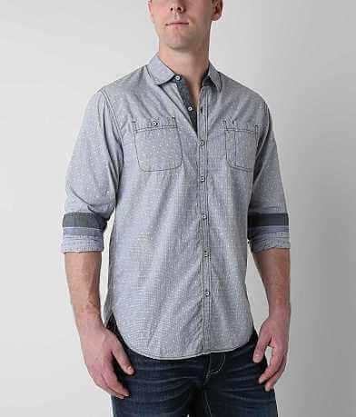 MB Denim Wear Micro Plaid Shirt