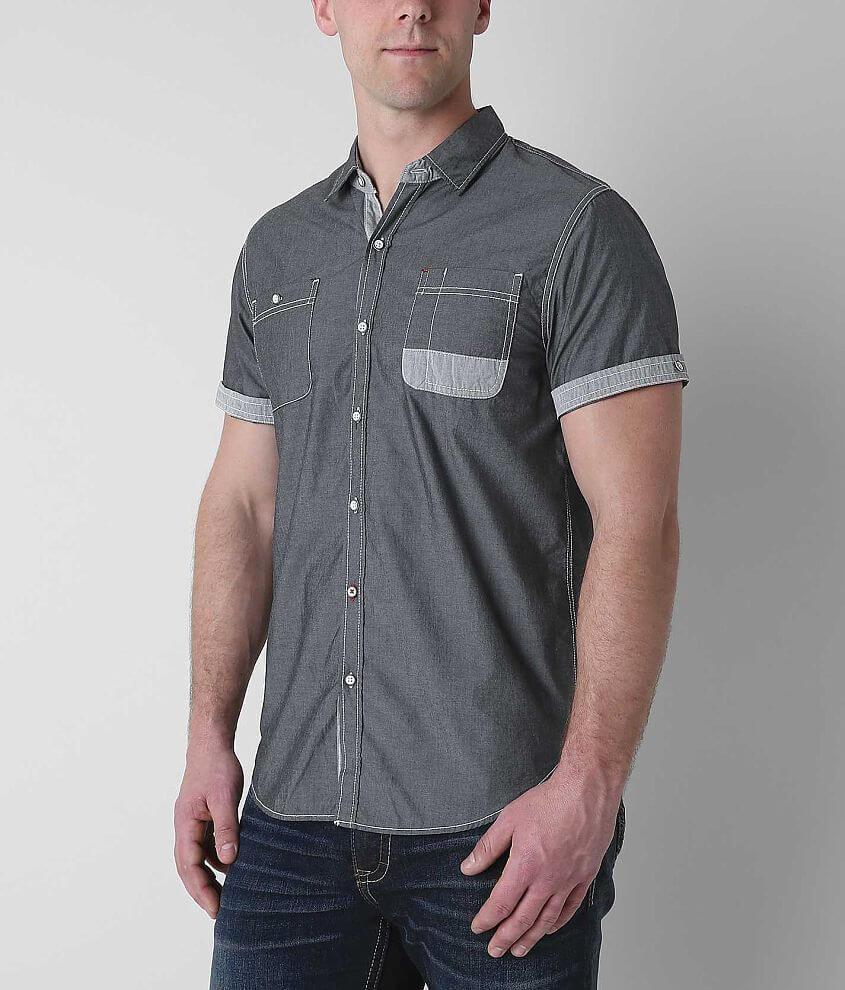 MB Denim Wear Chambray Shirt front view