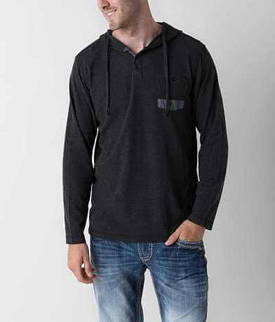 Thread & Cloth Thermal Henley Hoodie
