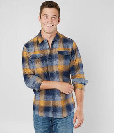 Thread & Cloth Twisted Yarn Flannel Shirt