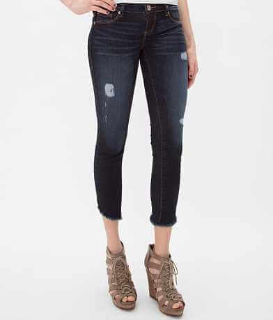 15 FIFTEEN Dolphin Cropped Stretch Jean