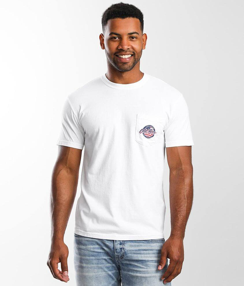 Old Row USA Pocket T-Shirt front view