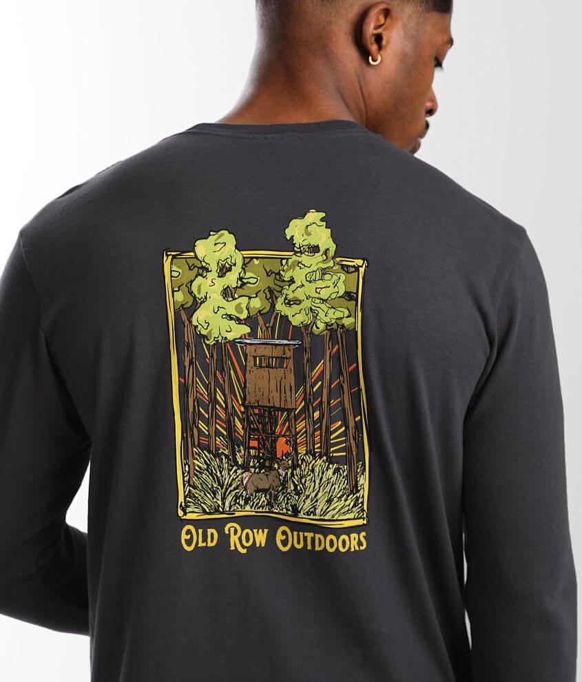 Old Row Hunting Blind T-Shirt front view