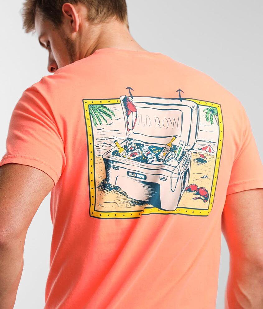 Old Row Beach Cooler T-Shirt front view