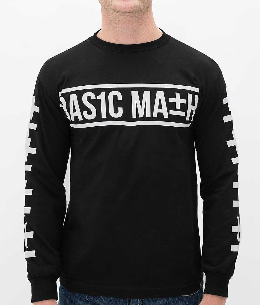 Basic Math X Symbol T-Shirt front view