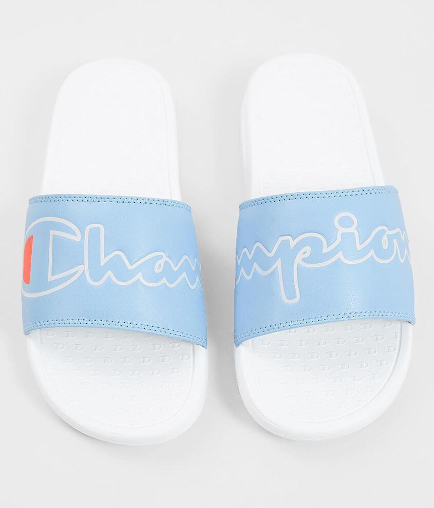 cb178cbfb1c Champion® Super Split Script Slide - Women's Shoes in Ocean Front ...