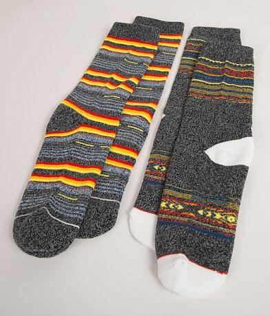 B Icon Fireside Socks