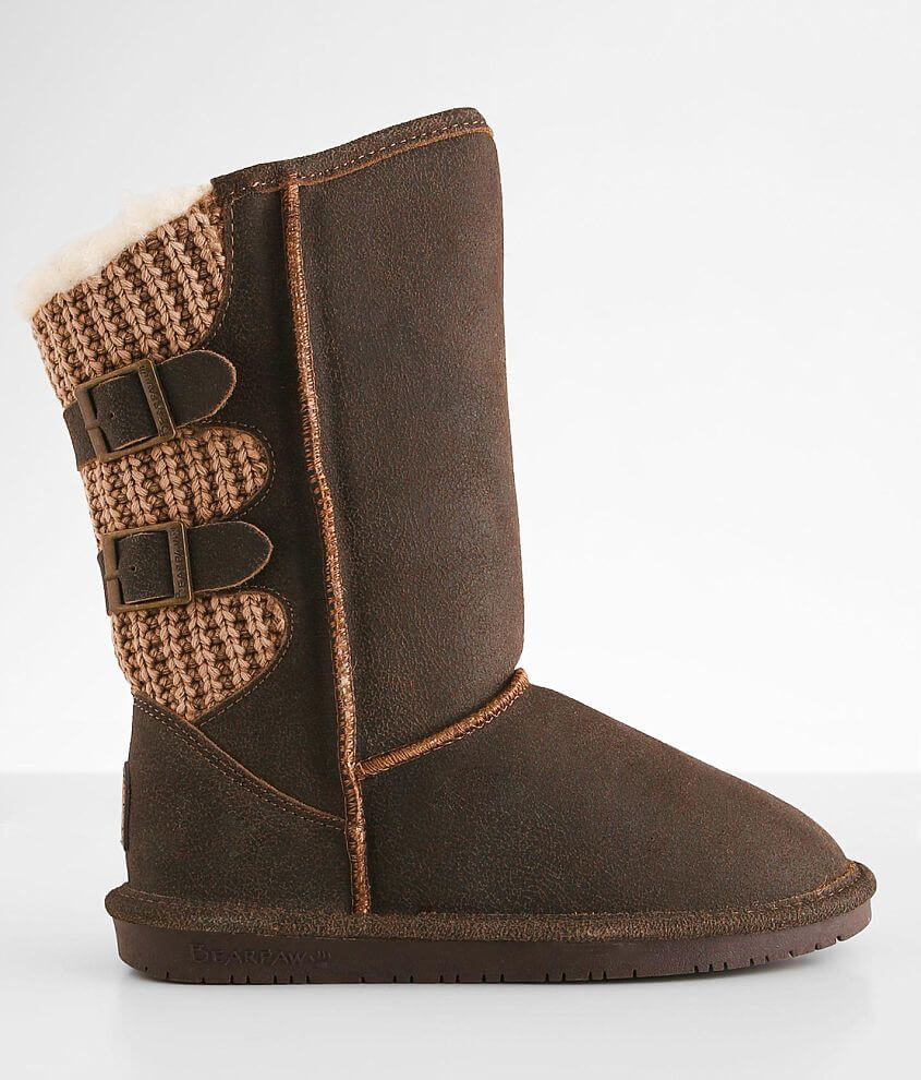Bearpaw Boshie Leather Boot front view