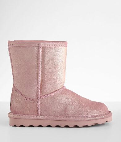Girls Youth - Bearpaw Elle Glitter Leather Boot