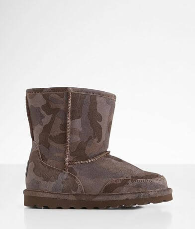 Girls Youth - Bearpaw Brady Camo Leather Boot