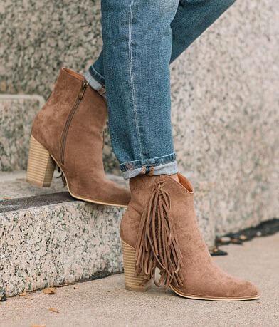 Beast Fashion Jackie Fringe Ankle Boot