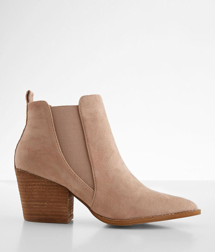 Beast Fashion James II Heeled Ankle Boot front view