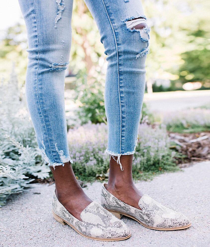 Beast Fashion Jordan Snakeskin Loafer Shoe front view