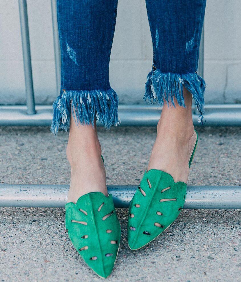 Beast Fashion Cut-Out Mule Shoe