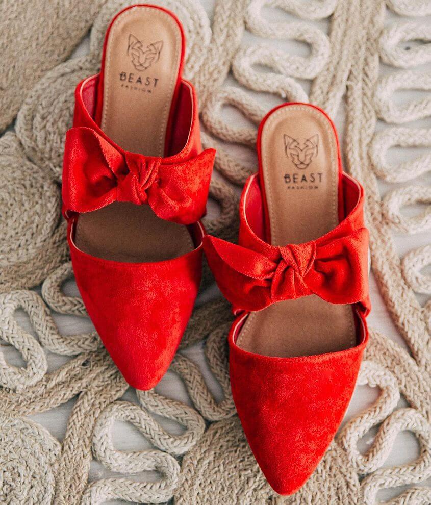 Shop All Brill Boutique Velvet slip-on shoe