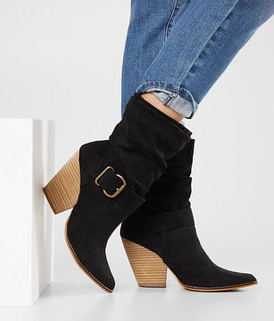 Beast Fashion Sam Slouchy Heeled Ankle Boot