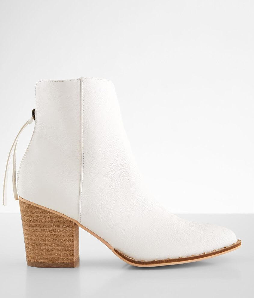 Beast Fashion Weslee Heeled Ankle Boot front view