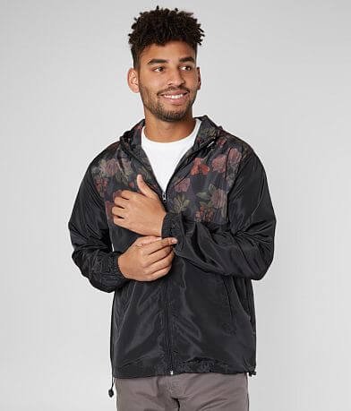 Viscosity Floral Windbreaker Jacket