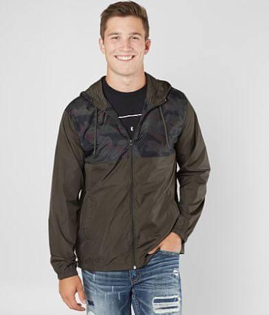 Viscosity Camo Windbreaker Jacket