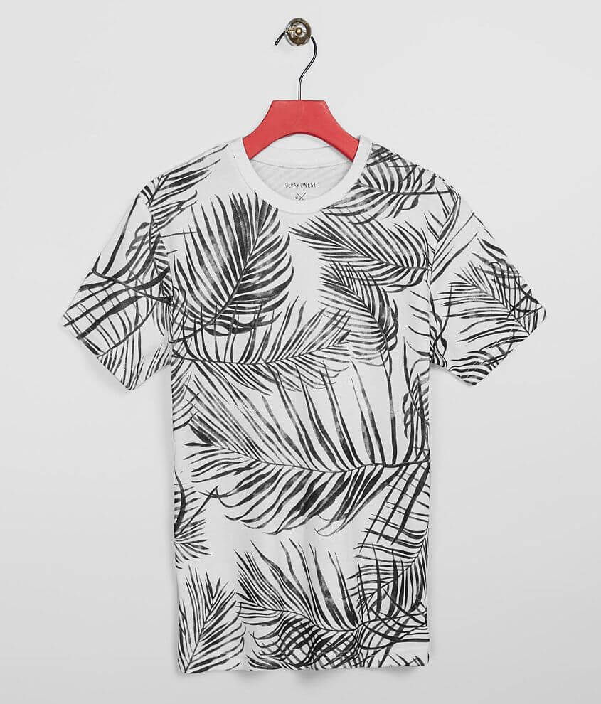 Boys - Departwest Palm Leaves T-Shirt front view