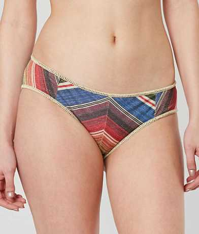 Becca West Village Metallic Swimwear Bottom