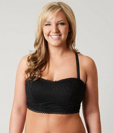Becca Crochet Swimwear Top - Plus Size Only