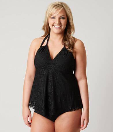 Becca Crochet Swimwear Top - Plus Size Only