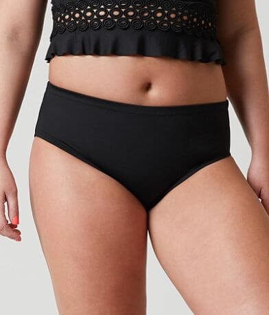 Becca Solid Swimwear Bottom - Plus Size Only
