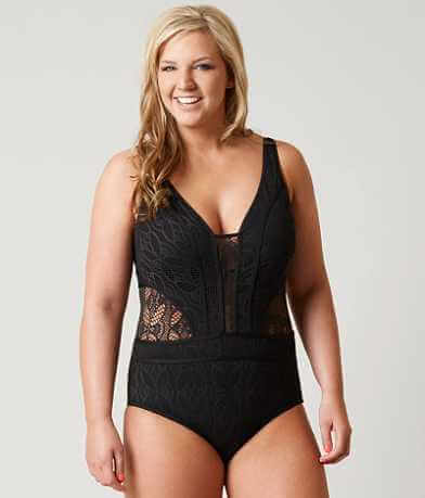 Becca Crochet Swimsuit - Plus Size Only