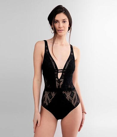 Becca Show & Tell Plunging Swimsuit