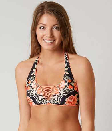 Becca Floral Swimwear Top