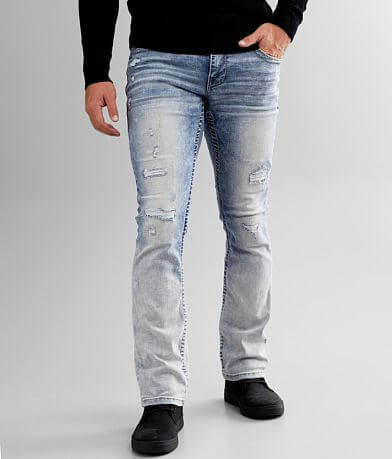 Buckle Black Three Boot Stretch Jean