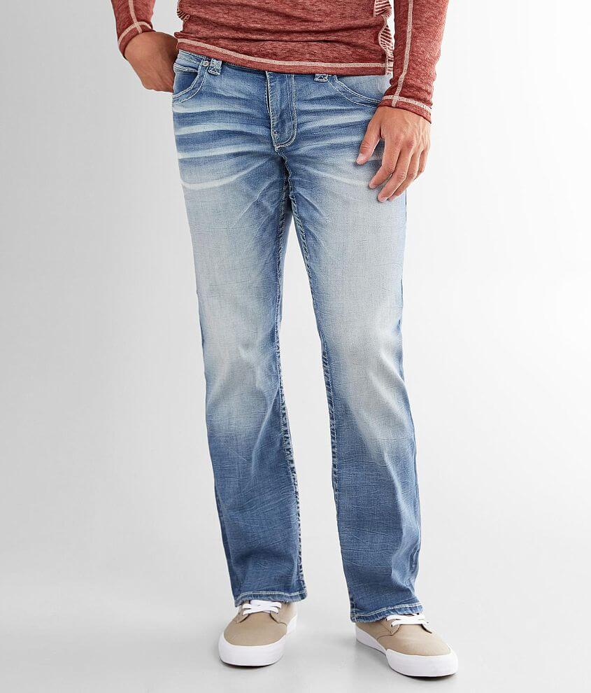 Buckle Black Nine Boot Stretch Jean front view