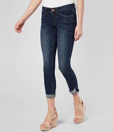 BKE StellaAnkle Skinny Stretch Cuffed Jean