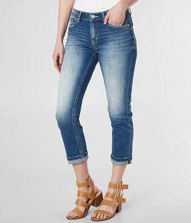 BKE Stella Cropped Stretch Cuffed Jean