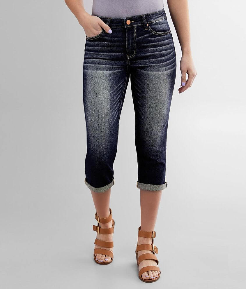 BKE Gabby Stretch Cropped Jean front view