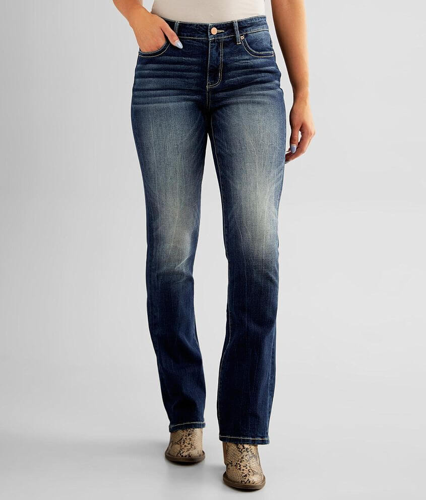 BKE Gabby Tailored Boot Stretch Jean front view