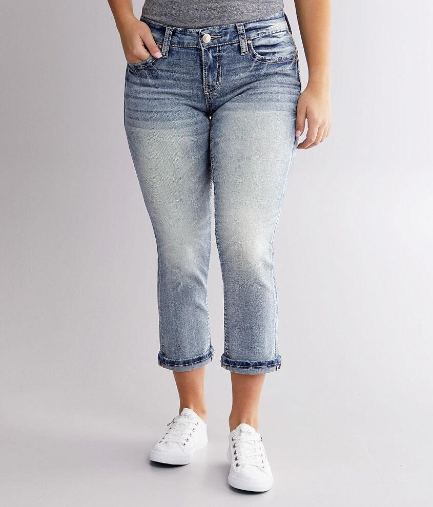 Daytrip Virgo Stretch Cropped Jean front view