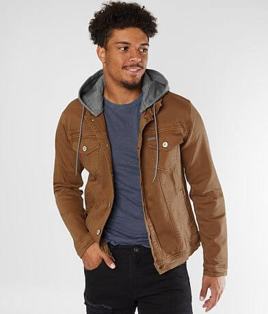 Departwest Walker Hooded Denim Stretch Jacket