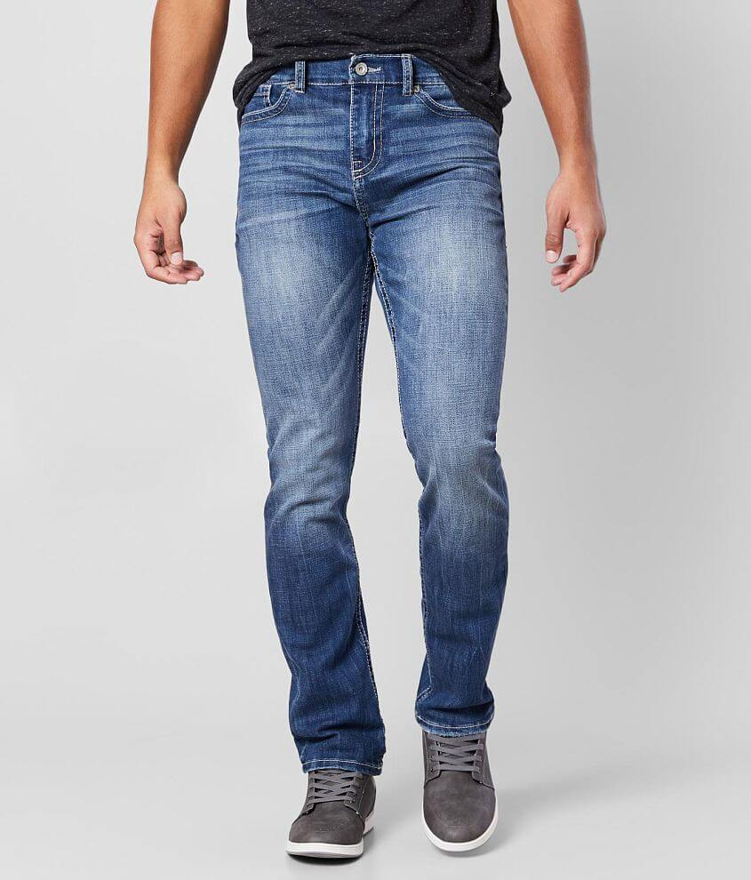 BKE Alec Regular Rise Straight Stretch Jean front view