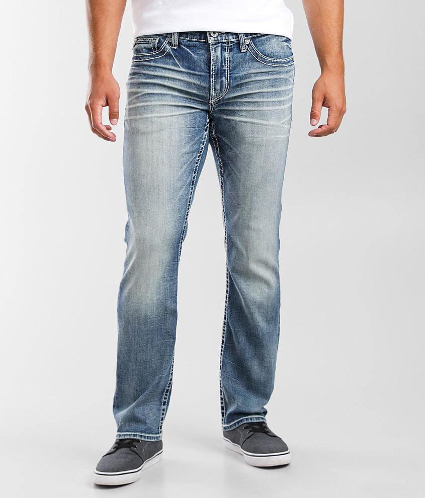 Salvage Mayhem Straight Stretch Jean front view