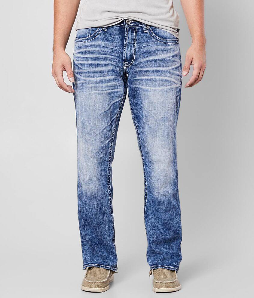 Salvage Anarchy Straight Stretch Jean Men's Jeans in