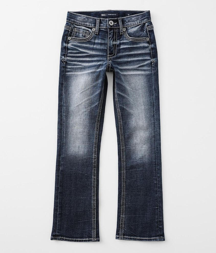 Boys - BKE Conner Boot Stretch Jean front view