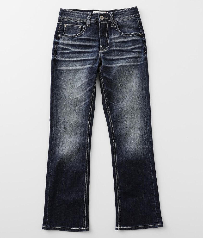 Boys - Departwest Tripp Boot Stretch Jean front view