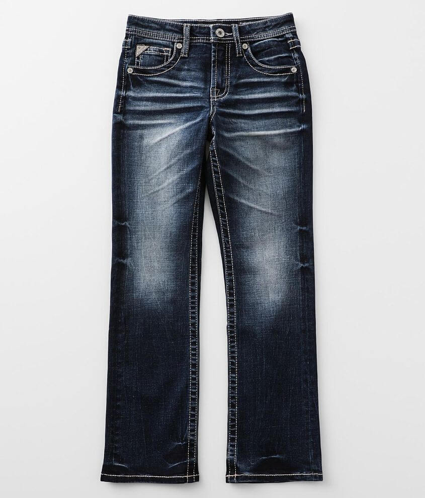 Boys - Salvage Chaos Boot Stretch Jean front view